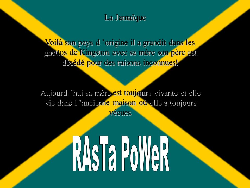 RAsTa PoWeR La Jamaïque