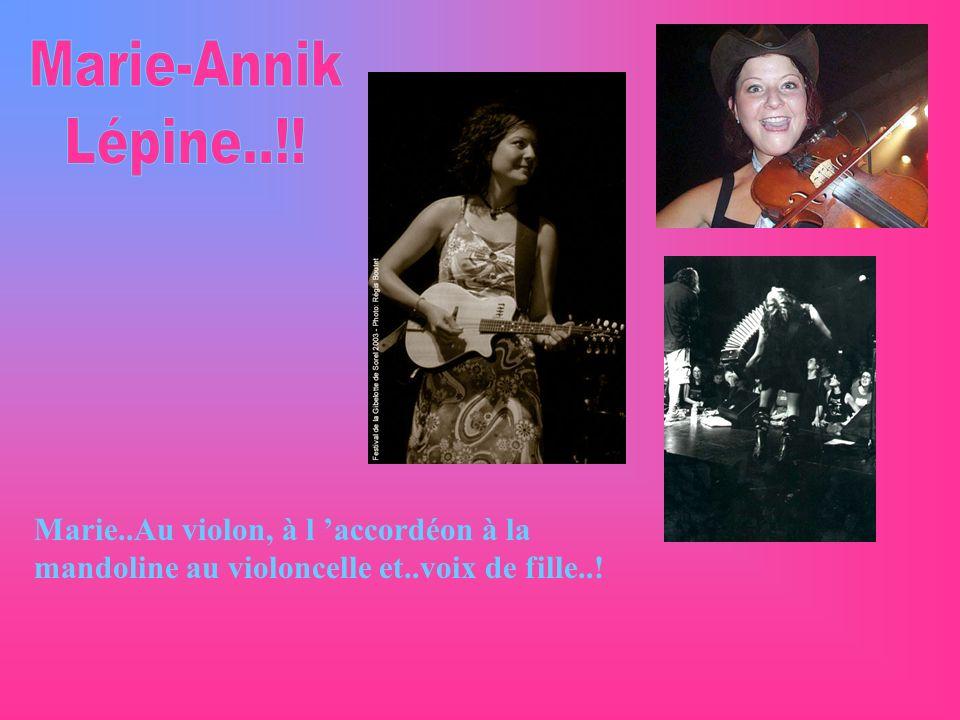 Marie-Annik Lépine..!.