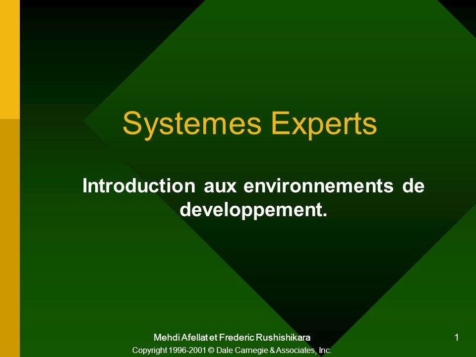 Introduction aux environnements de developpement.