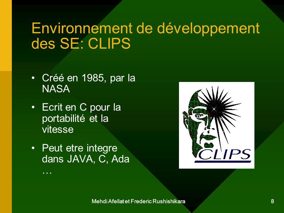 Environnement de développement des SE: CLIPS