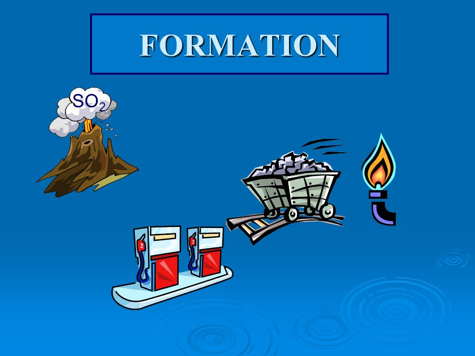 FORMATION SO2