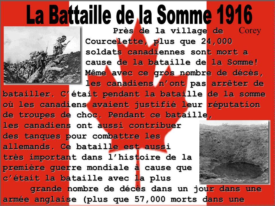 La Battaille de la Somme 1916