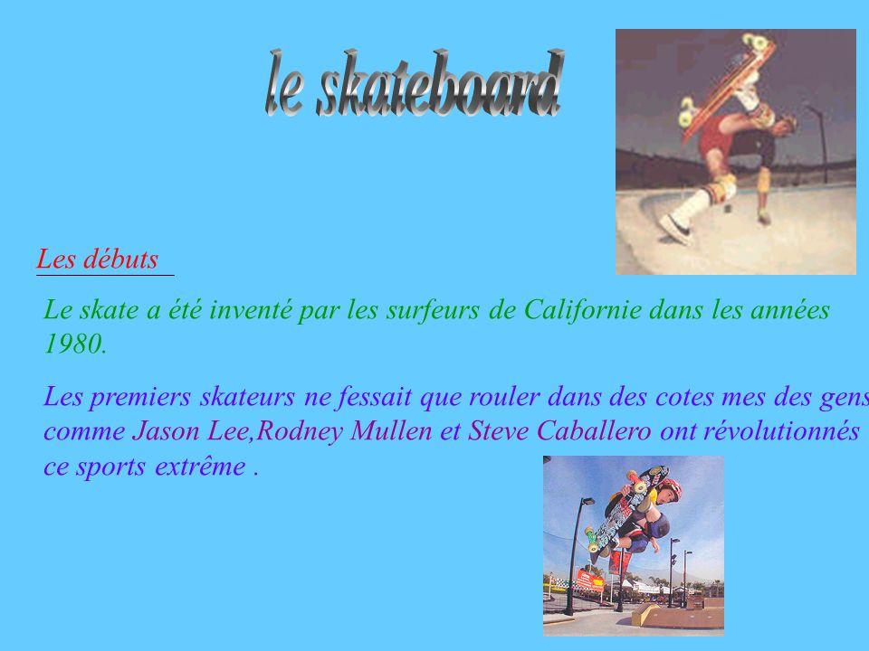le skateboard Les débuts