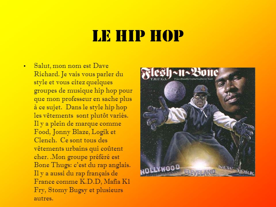 Le hip hop