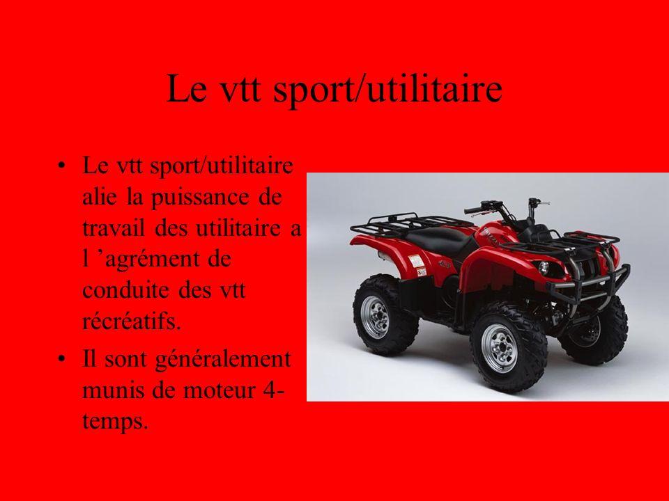 Le vtt sport/utilitaire
