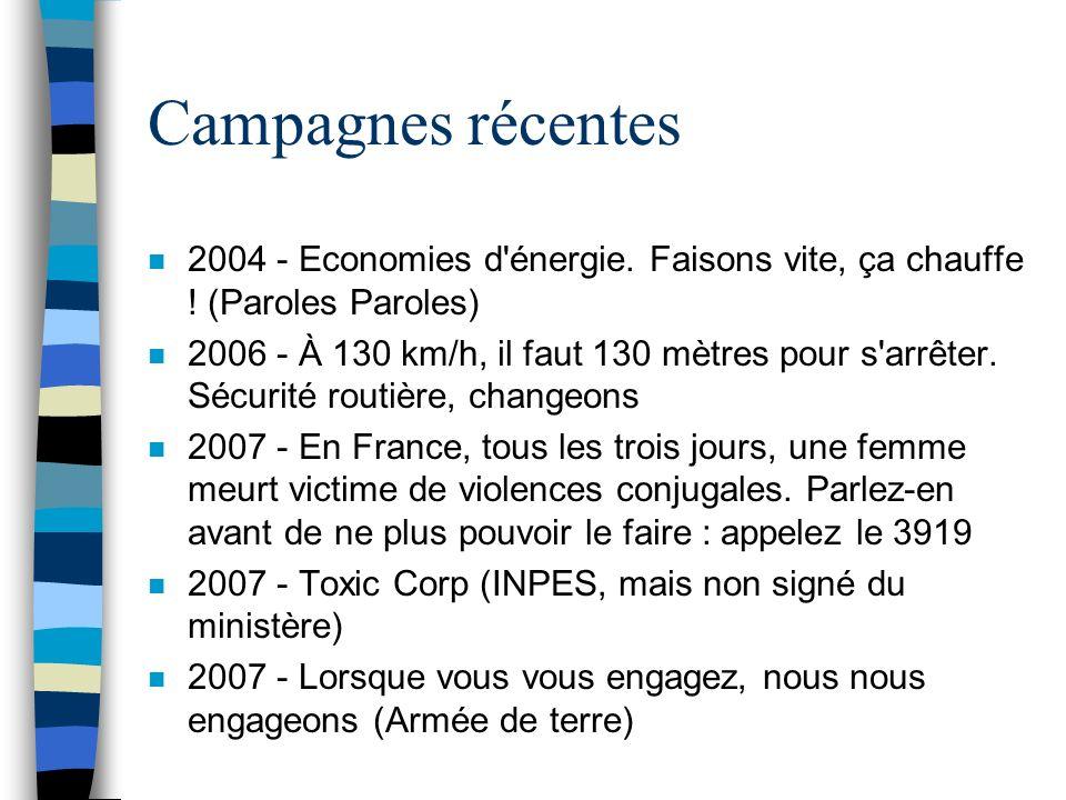 Campagnes récentes 2004 - Economies d énergie. Faisons vite, ça chauffe ! (Paroles Paroles)
