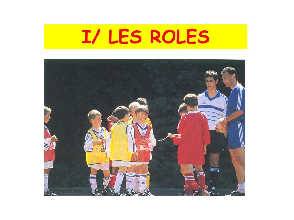 I/ LES ROLES