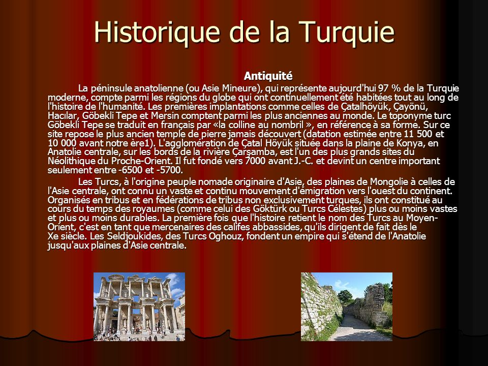 Historique de la Turquie