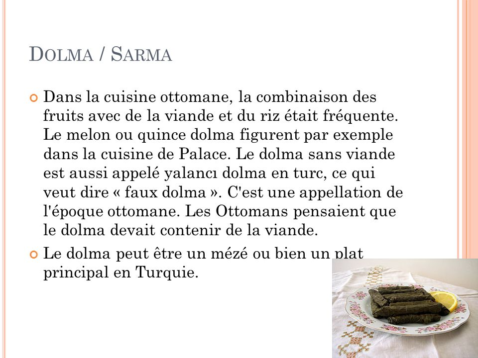 Dolma / Sarma