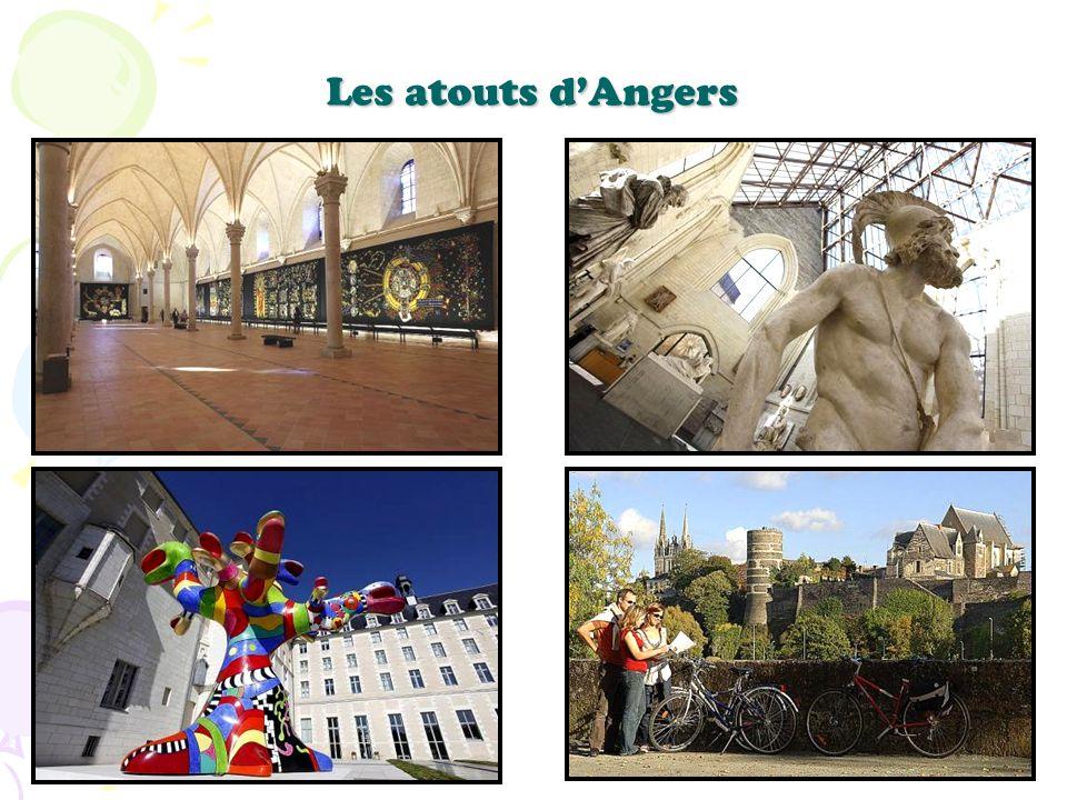 Les atouts d'Angers