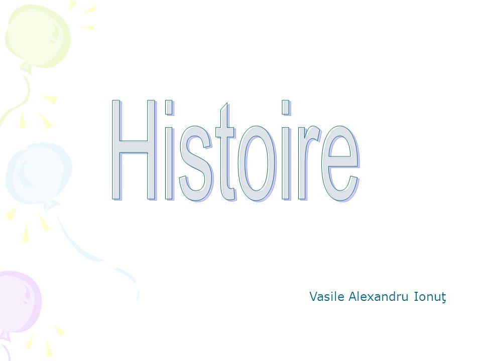 Histoire Vasile Alexandru Ionuţ