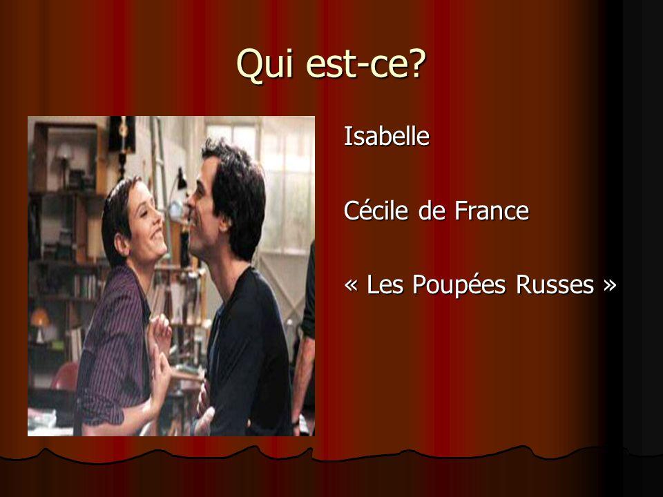 Qui est-ce Isabelle Cécile de France « Les Poupées Russes »
