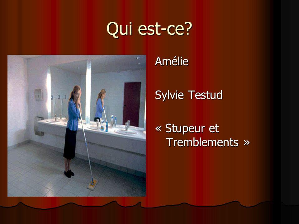 Qui est-ce Amélie Sylvie Testud « Stupeur et Tremblements »