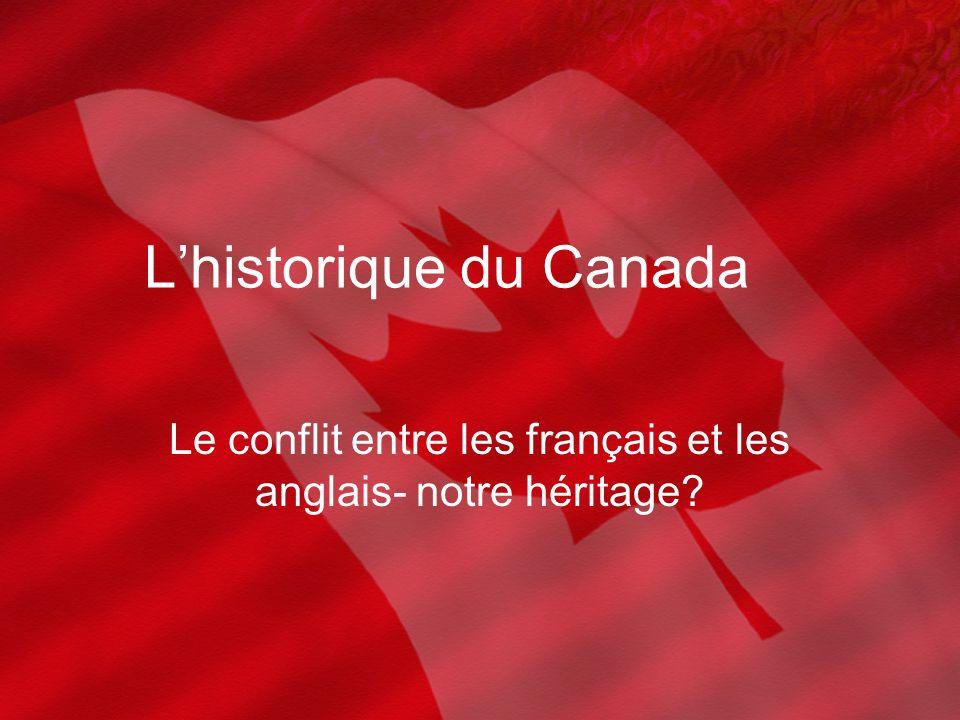 L'historique du Canada