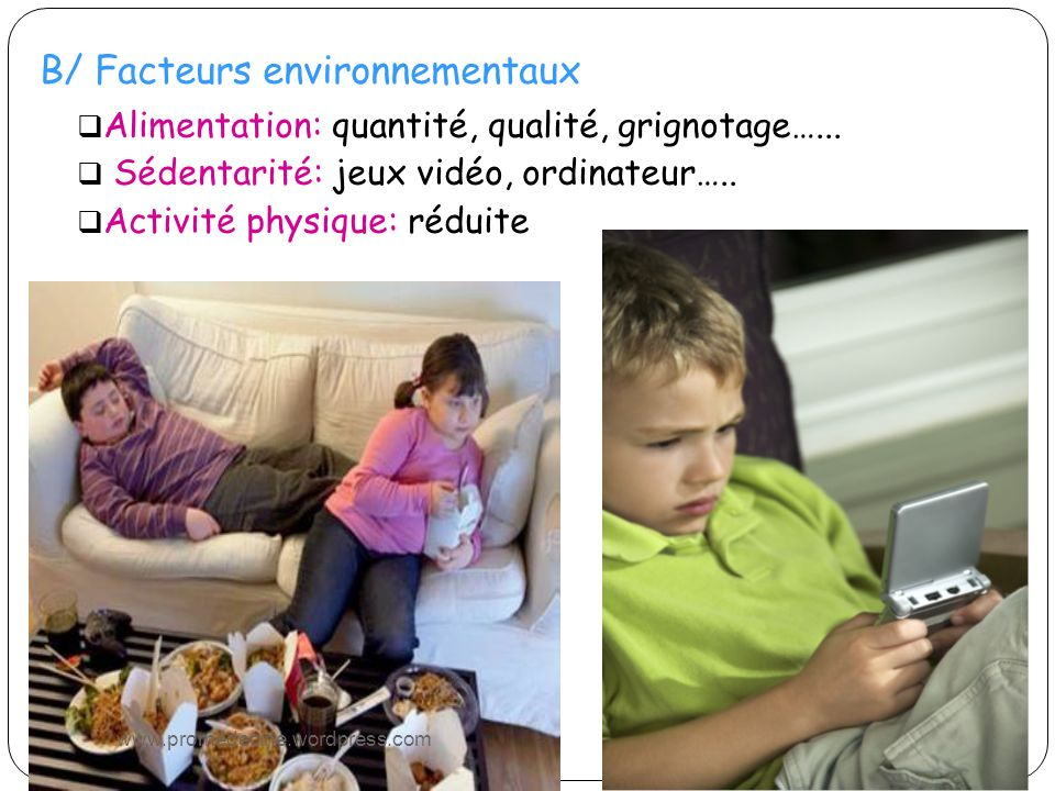 B/ Facteurs environnementaux