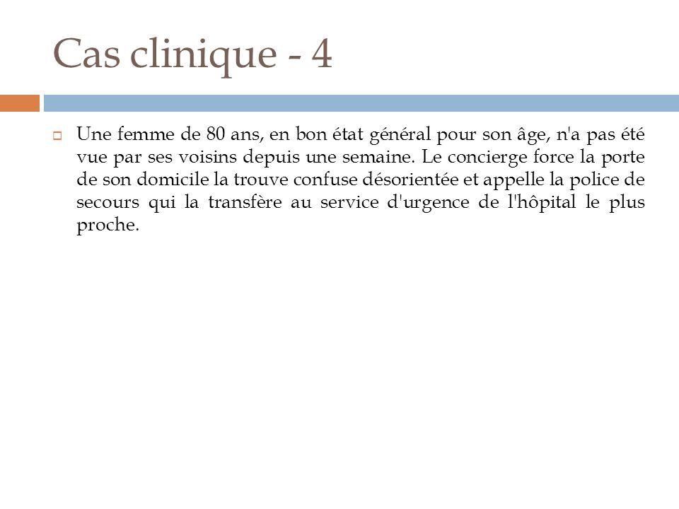 Cas clinique - 4