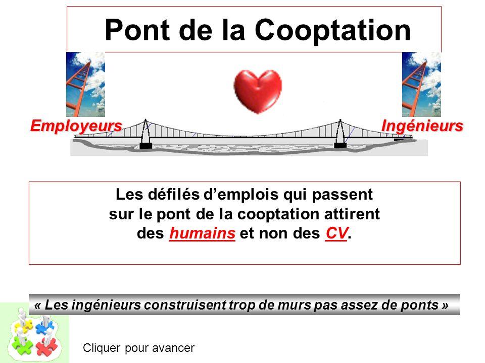 Pont de la Cooptation Employeurs Ingénieurs
