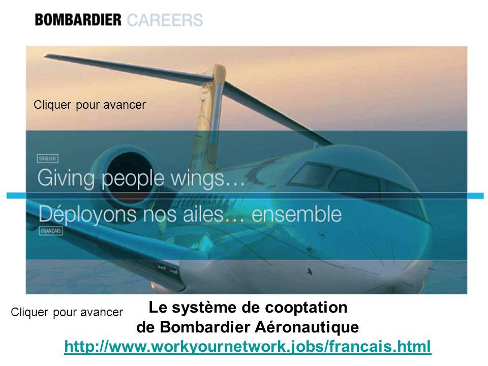 Le système de cooptation de Bombardier Aéronautique