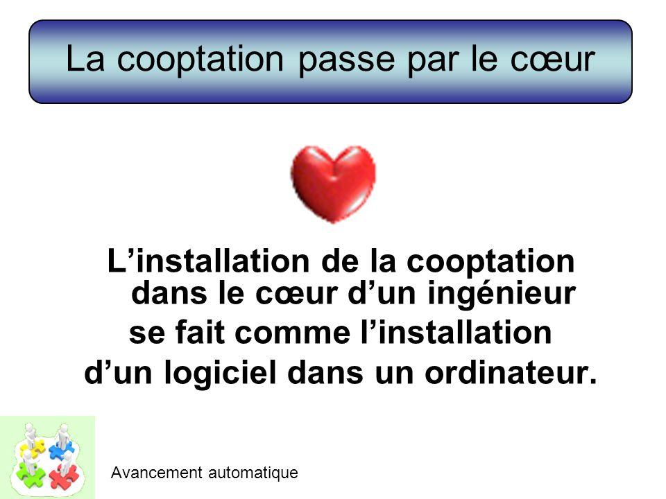 La cooptation passe par le cœur