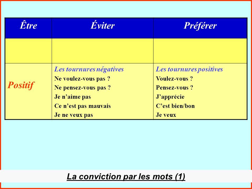 La conviction par les mots (1)
