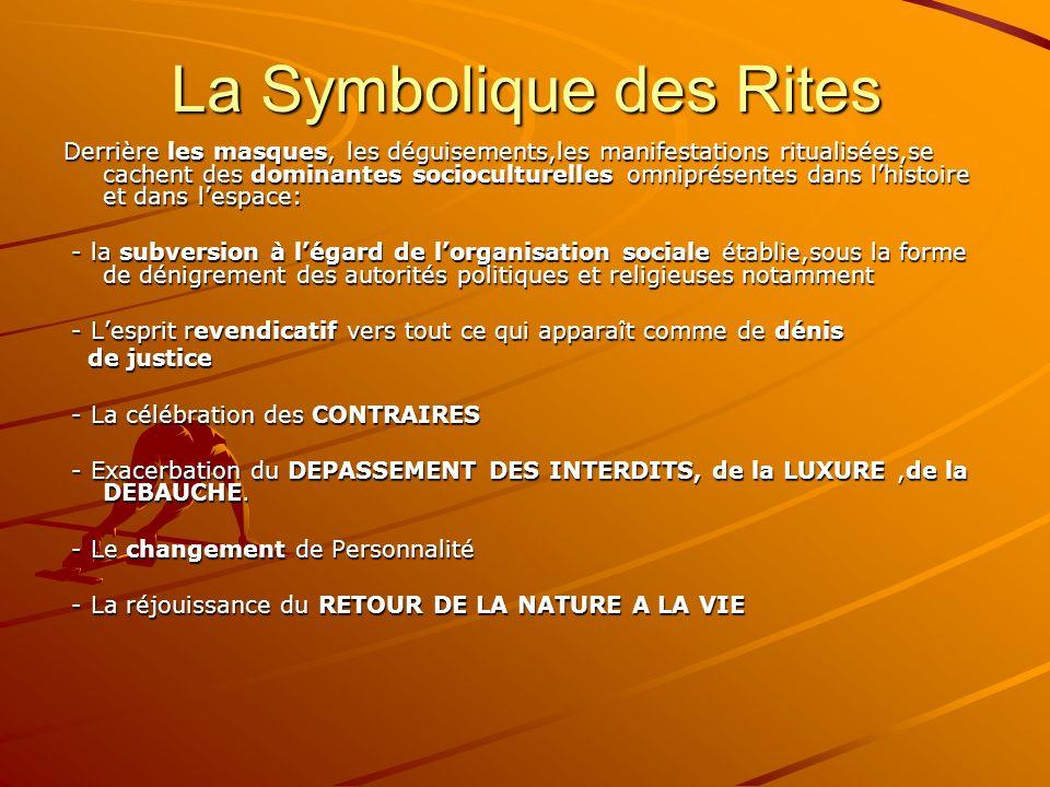 La Symbolique des Rites