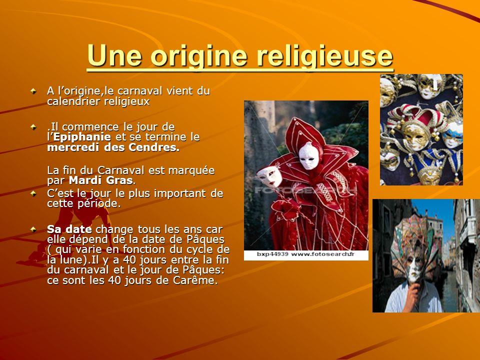 Une origine religieuse