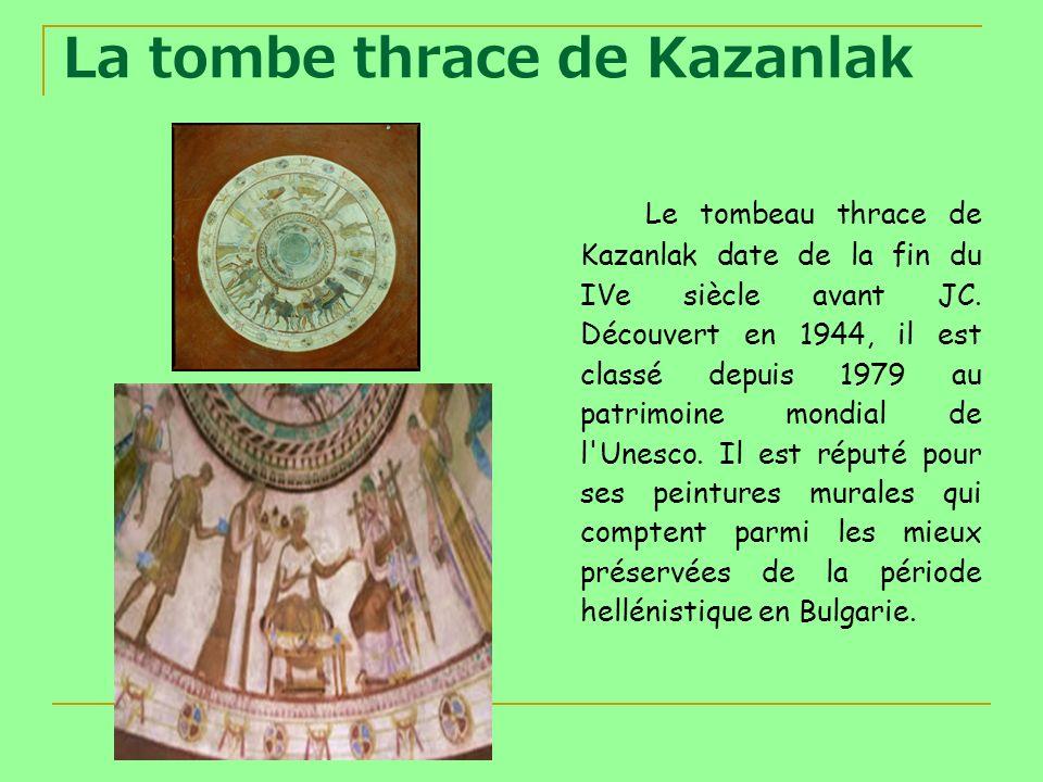 La tombe thrace de Kazanlak