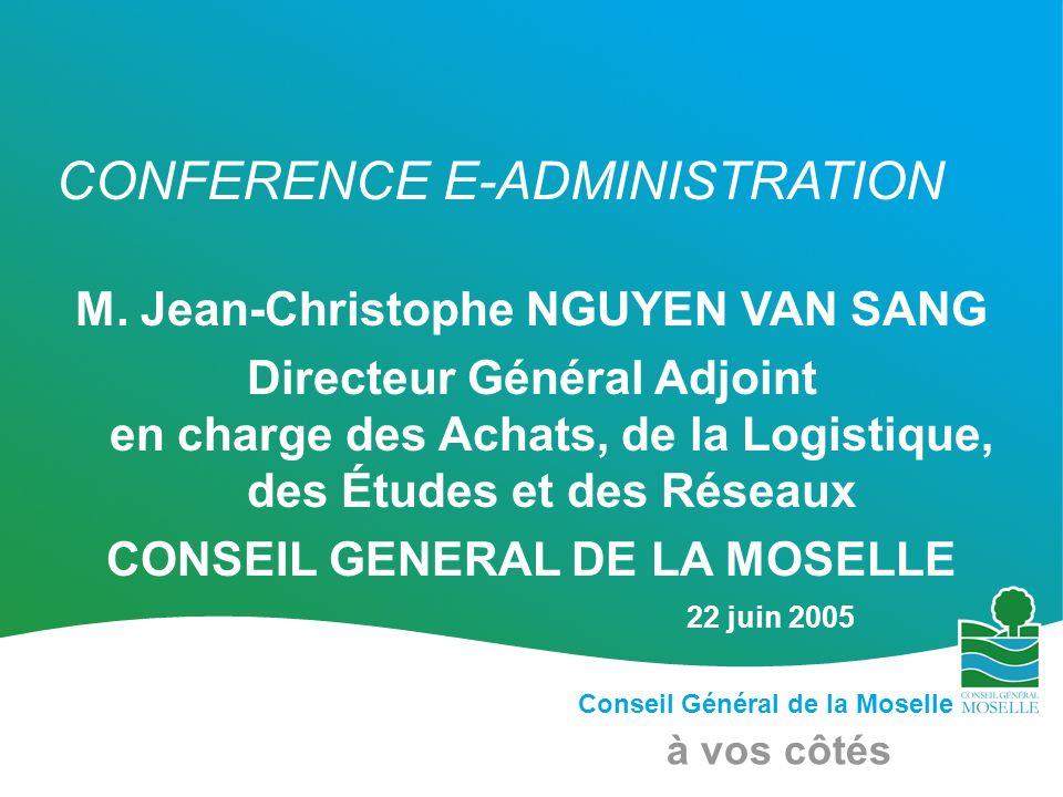 M. Jean-Christophe NGUYEN VAN SANG CONSEIL GENERAL DE LA MOSELLE