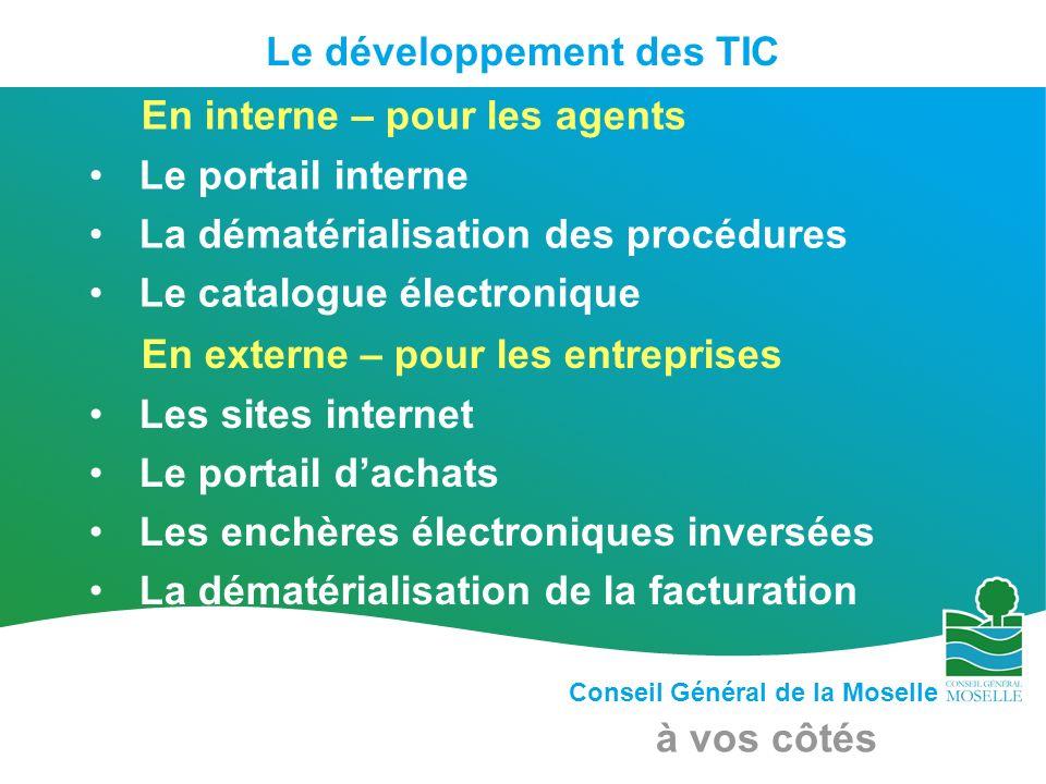 Le développement des TIC