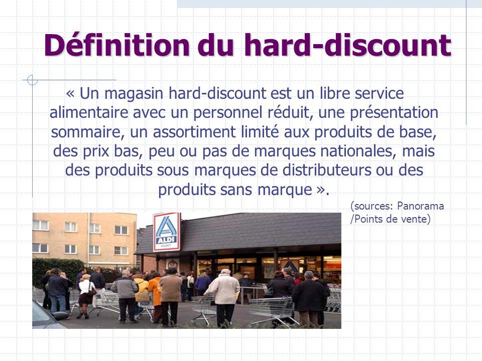 Définition du hard-discount