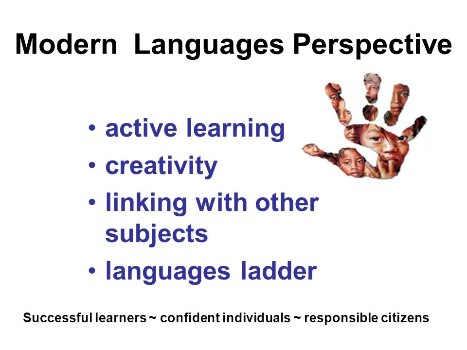 Modern Languages Perspective