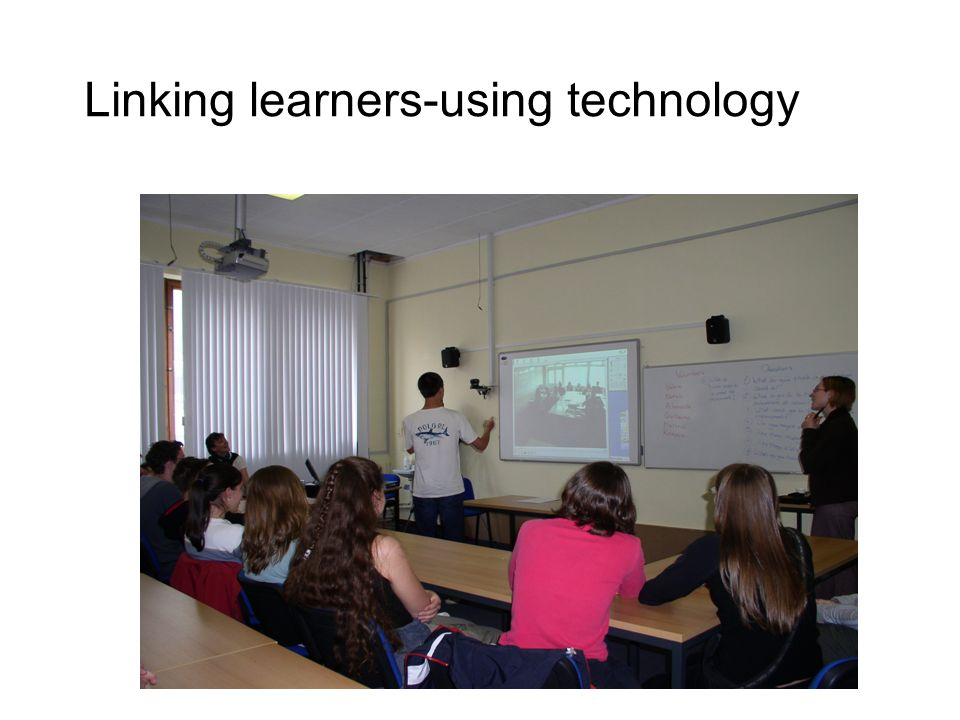 Linking learners-using technology