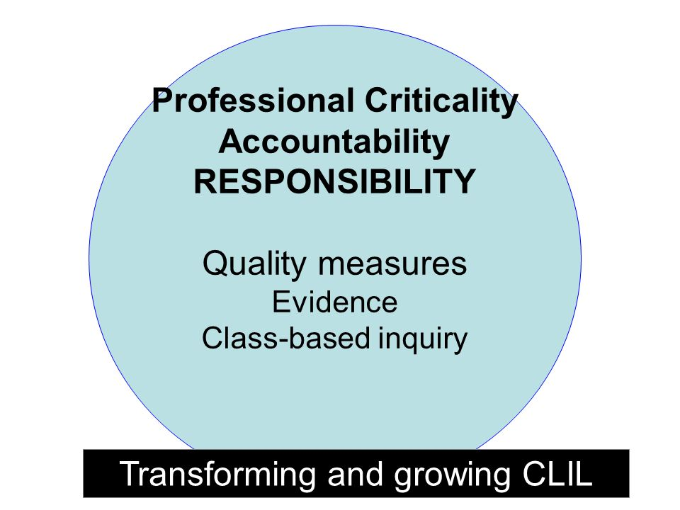 Professional Criticality