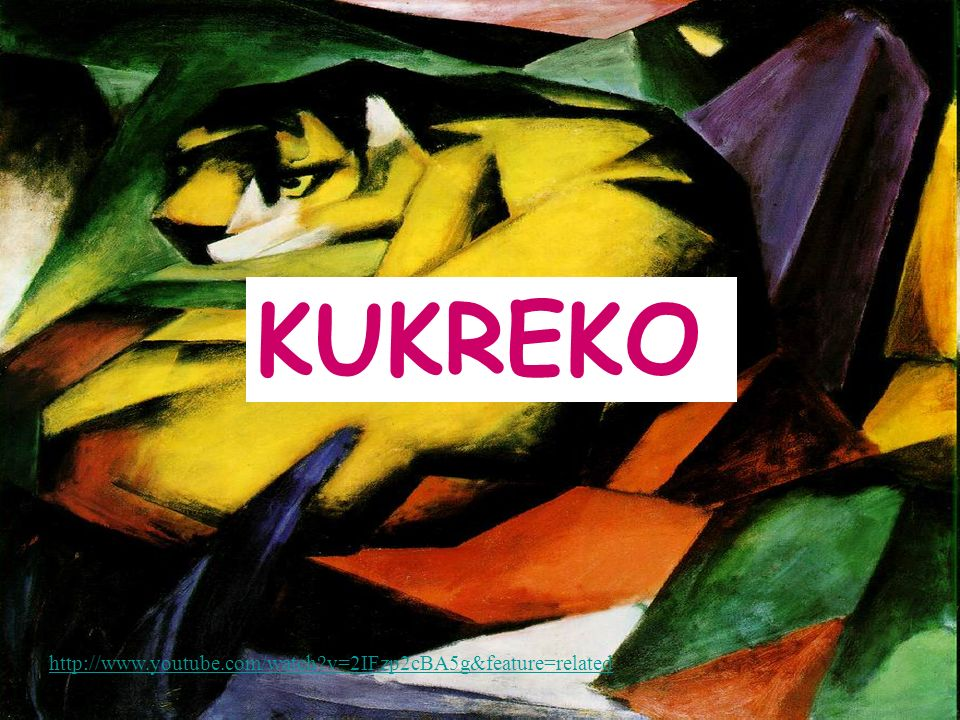 KUKREKO http://www.youtube.com/watch v=2IFzp2cBA5g&feature=related