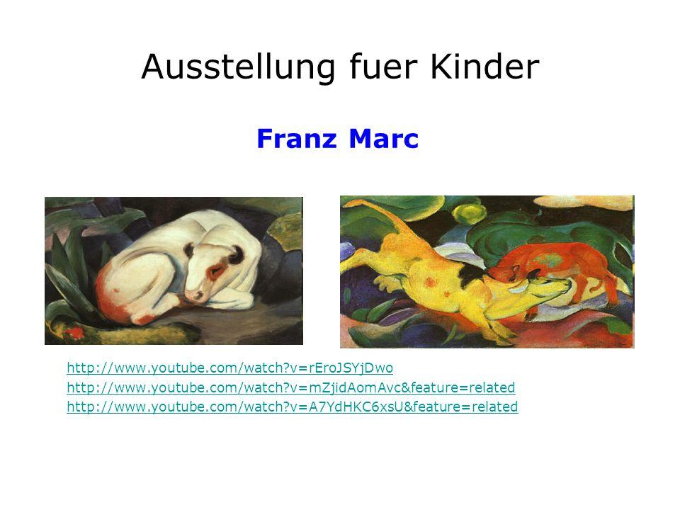 Ausstellung fuer Kinder