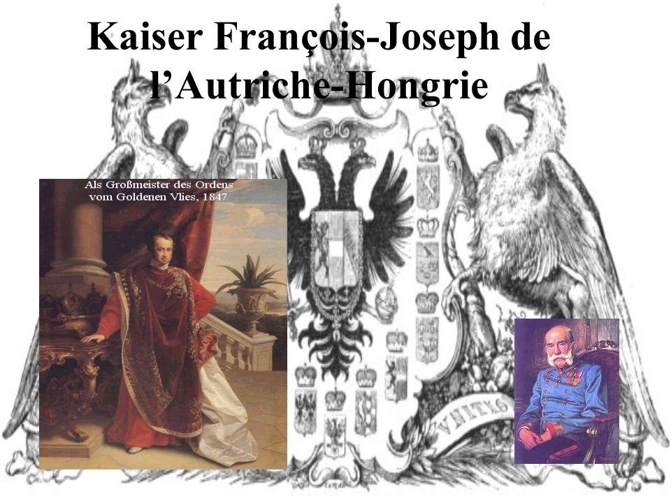 Kaiser François-Joseph de l'Autriche-Hongrie
