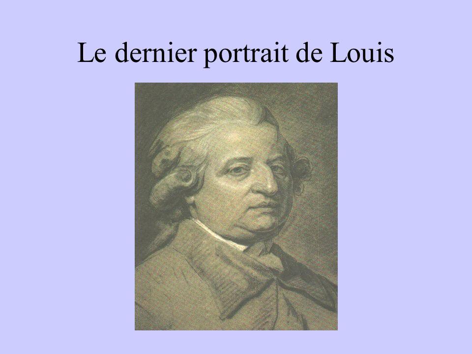 Le dernier portrait de Louis