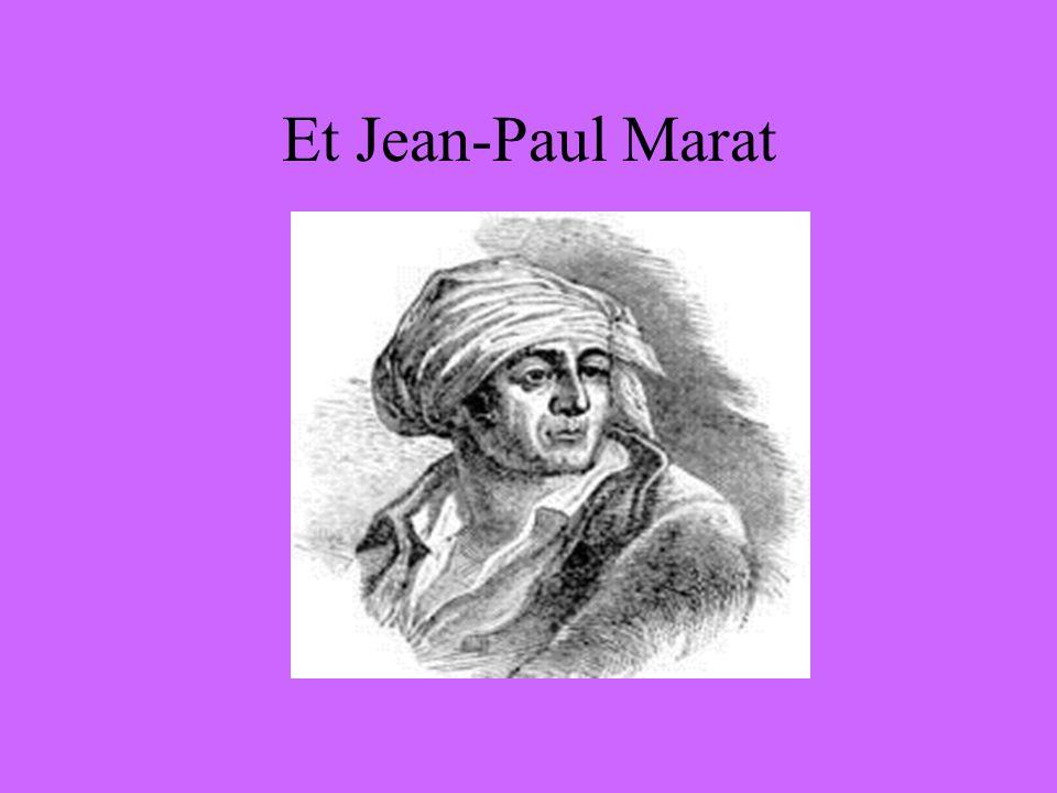 Et Jean-Paul Marat