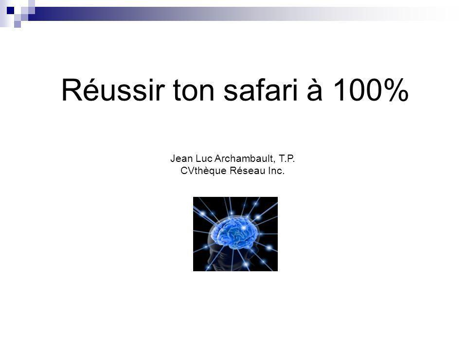 Jean Luc Archambault, T.P.