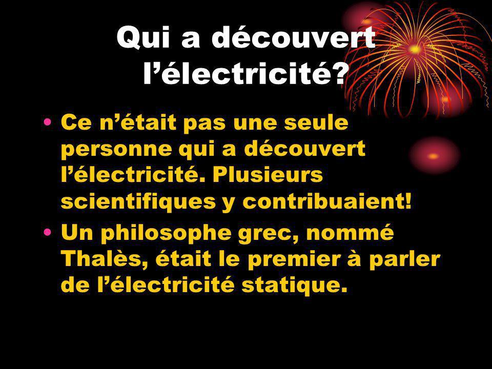 Electricit ppt t l charger - Les dangers de l electricite statique ...