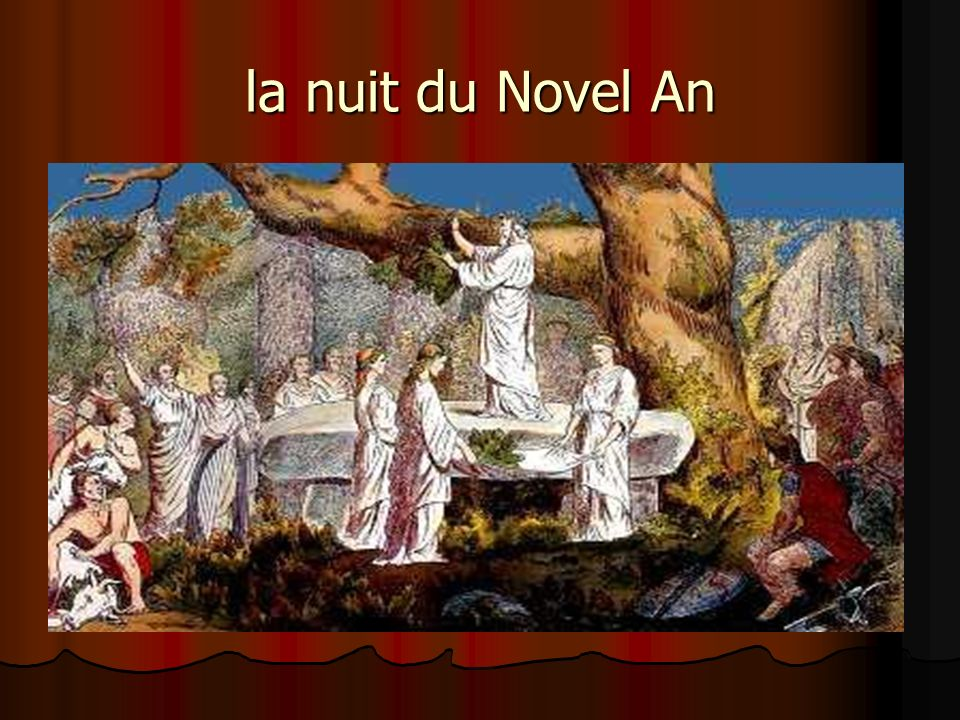 la nuit du Novel An
