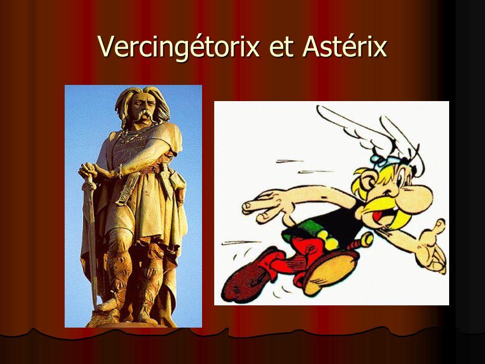Vercingétorix et Astérix