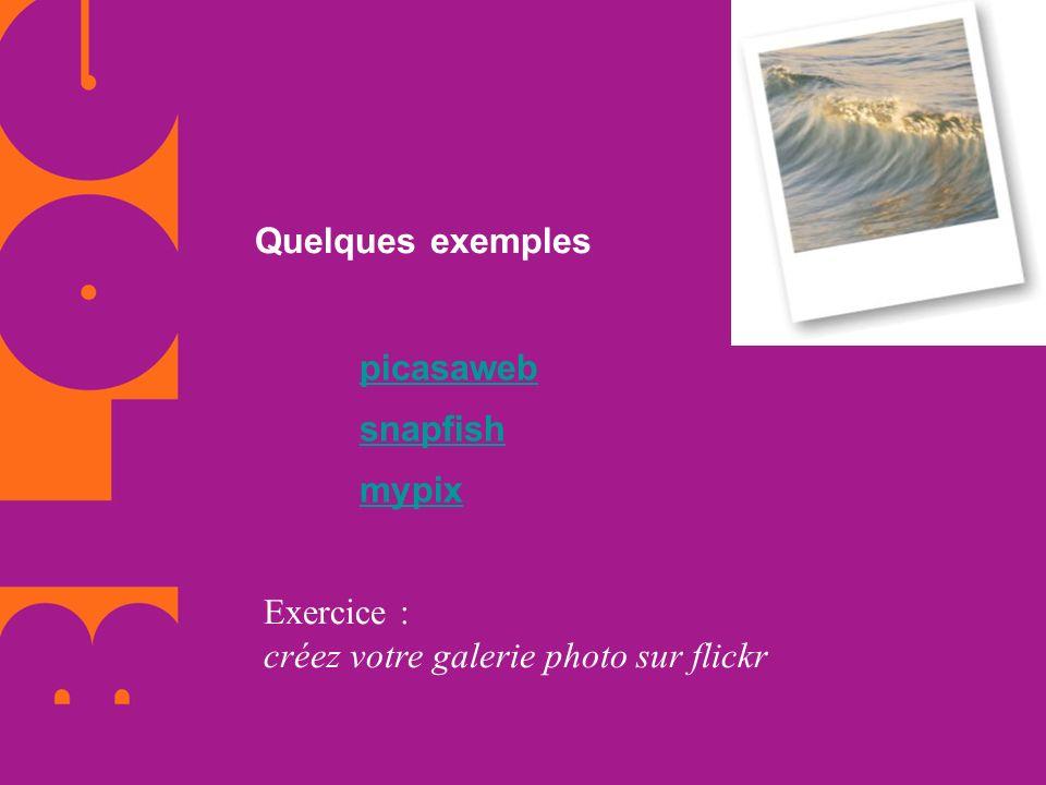 Exercice : créez votre galerie photo sur flickr