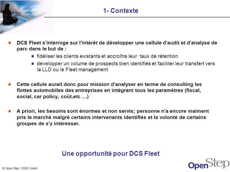 Une opportunité pour DCS Fleet