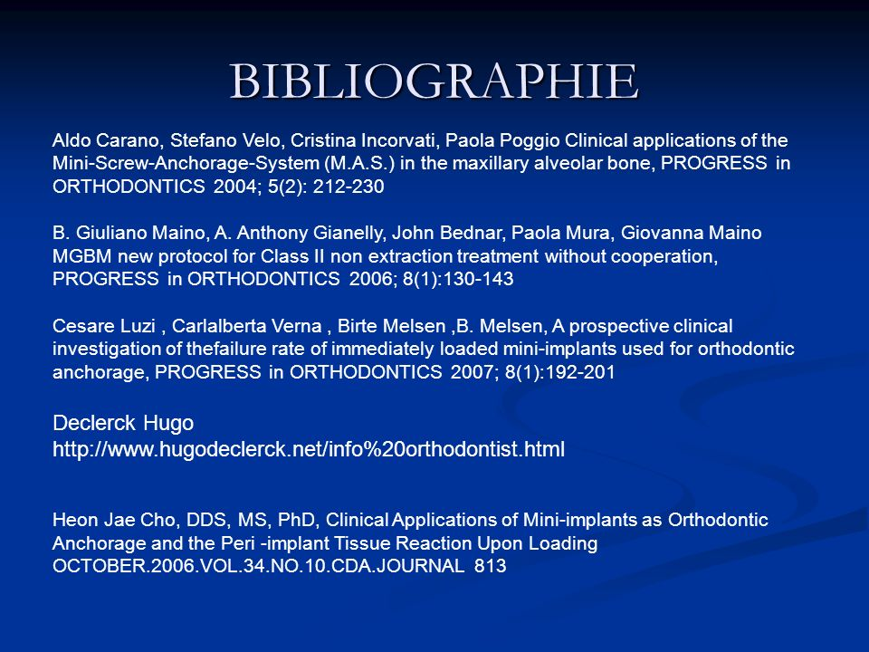 BIBLIOGRAPHIE Declerck Hugo