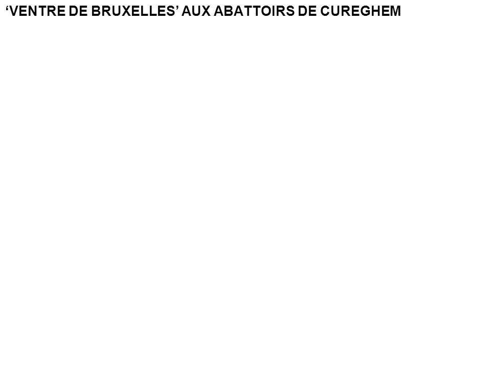'VENTRE DE BRUXELLES' AUX ABATTOIRS DE CUREGHEM