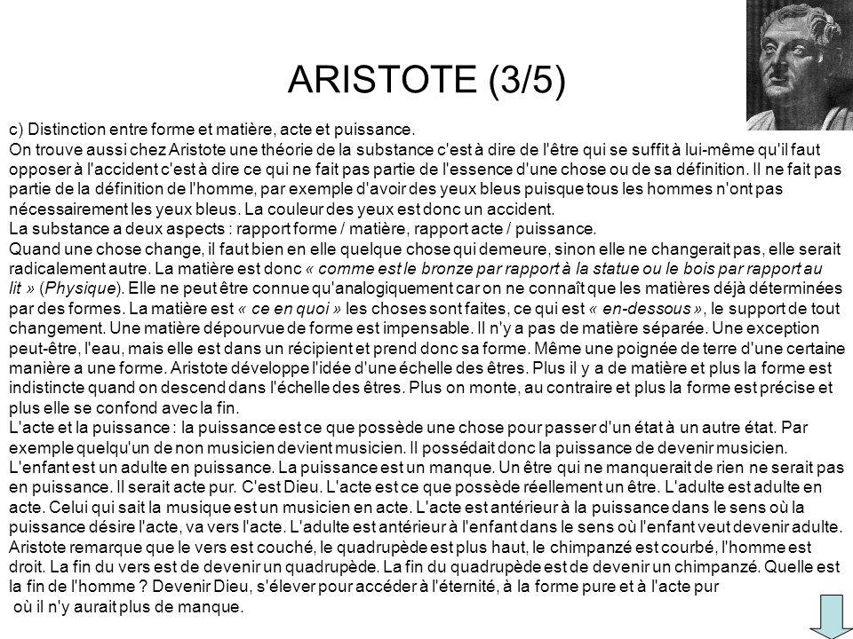 ARISTOTE (3/5)