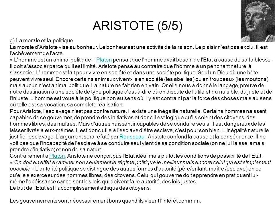 ARISTOTE (5/5)