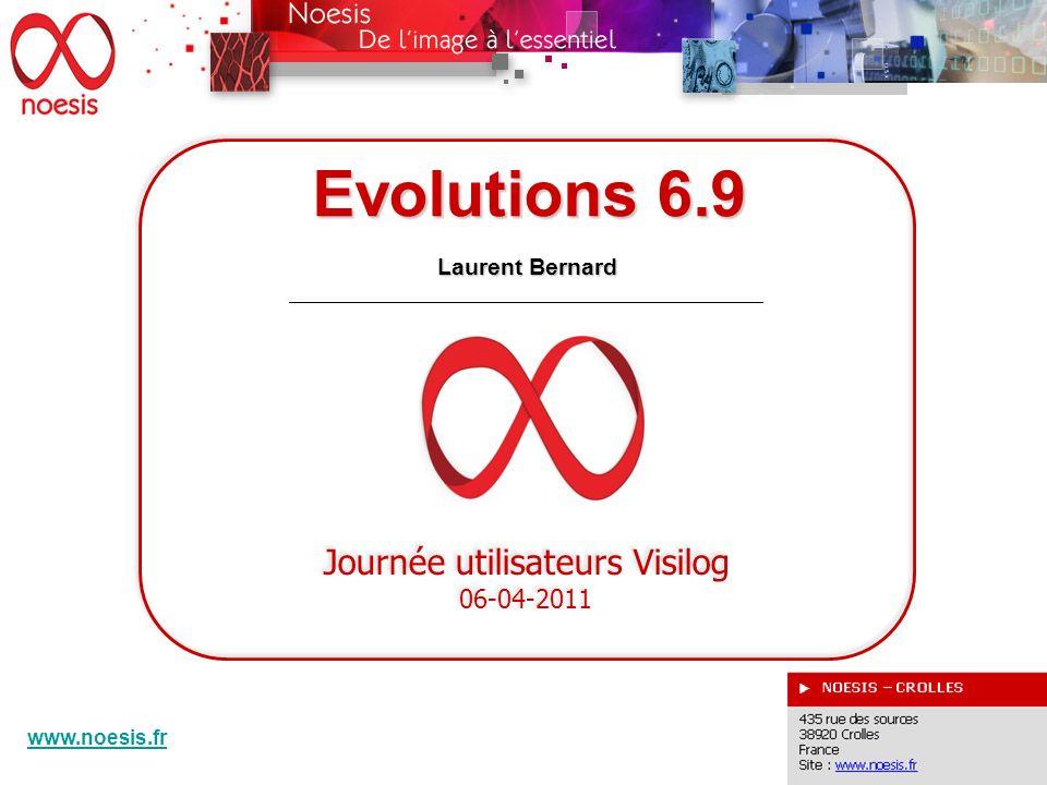 Evolutions 6.9 DEVELOPPEMENTS SPECIFIQUES Harold Phelippeau
