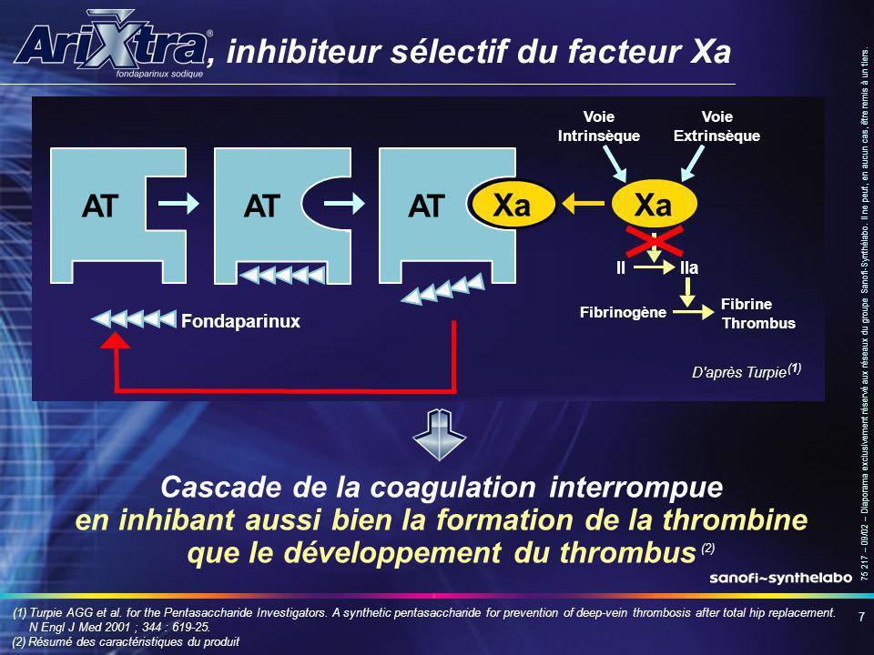 , inhibiteur sélectif du facteur Xa